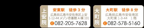 安佐南区「整体院 楓月-Akatsuki-」 お問い合わせ